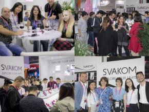 2019年上海国际成人展盛大开幕 SVAKOM展台备受关注